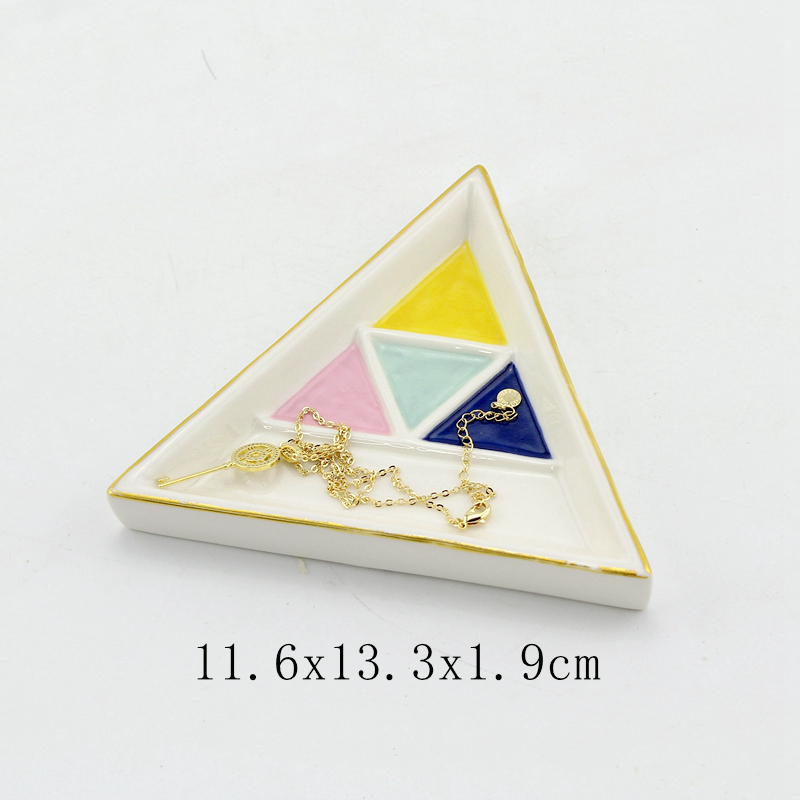 trinket dish triangle